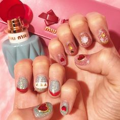 Sometimes you get lost in nail design. Such time … – Womens Dream Luv Nails, Nails Now, How To Do Nails, Kawaii Nails, Nails First, Nail Ring, Feet Nails, Pretty Nail Art, Nail Games