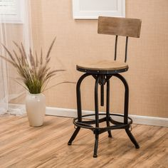 These would be good if the fit our measurments. May be too wide? No matching backless stools like at Ballard Desings. Found it at Wayfair - Oria Adjustable Height Swivel Bar Stool