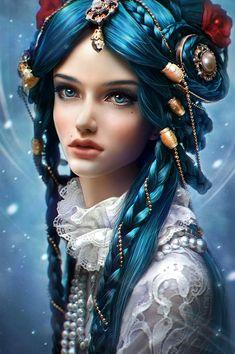 """artsy-fantasy: """" https://www.artstation.com/artist/dariaridel """""""