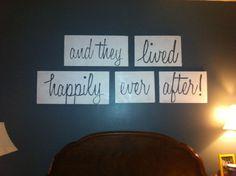 Bedroom paintings