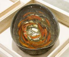 painted goldfish, resin --amazing!