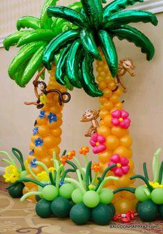 Balloon palms!