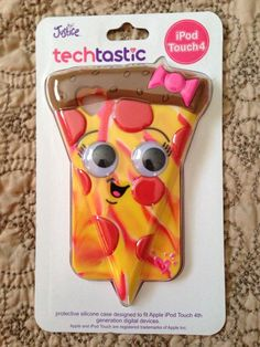 Apple Ipod Touch 4TH Generation Pizza Slice Case New Justice Cute Colorful