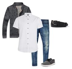 """""""Outfit9"""" by keeshafrancois on Polyvore featuring Scotch & Soda, Topman, DC Shoes, men's fashion and menswear"""