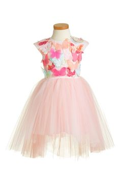 Halabaloo 'Butterfly' High/Low Tulle Dress (Toddler Girls, Little Girls & Big Girls) available at #Nordstrom