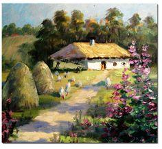 Ukrainian landscape art Landscape Art, Landscape Paintings, Ukrainian Art, Building Art, Impressionism Art, Paintings I Love, Cool Landscapes, Art Music, All Art