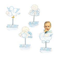 Detalles para bautizo. Clip sujeta tarjetas o portafotos en madera bebé azul. Incluimos tarjeta precortada personalizada, nombre y fecha del evento. Si deseas sorprender a tus invitados con una foto de tu bebé, con este regalo que acertarás. Medidas: 12 cm