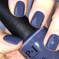 Beautiful Women Style 2019 With Type Opi Nail Polish 45 - . Beautiful Women Style 2019 With Type Opi Nail Polish 45 - Opi Nails, Manicure And Pedicure, Nail Polishes, Uv Gel Nagellack, Opi Nail Colors, Toe Nail Color, Colorful Nail Designs, Nagel Gel, Blue Nails