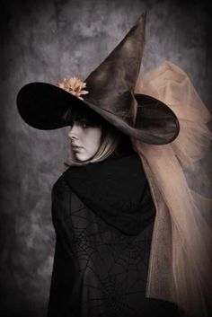 A witches hat is the perfect embellishment