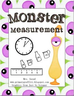 Measurement Games - Totally need this!! We're working on measurements right now!