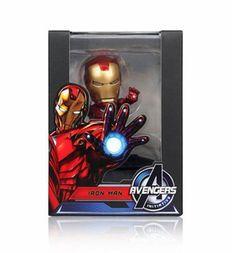 Marvel Avengers Action Figure Toy Car Vehicle Home Air Freshener - Iron Man #LGHouseholdHealthCareLtd