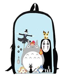 Myheartgoon Childrens Cartoon Totoro Laptop Backpack Cute Travel School College Shoulder Bagbookbagsdaypack color C >>> You can find out more details at the link of the image.