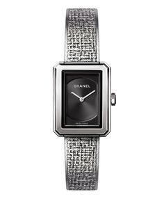 La montre BOY.FRIEND Tweed de Chanel I need this watch in my life. Medium please.