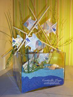 Geldgeschenk Aquarium für Hochzeit