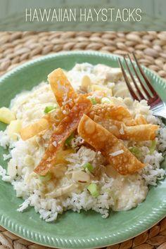 Super easy and super delicious Hawaiian Haystacks! { lilluna.com }