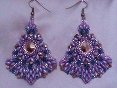 Tutorial INDIAN SCENT earrings / orecchini by PerlineeBijoux