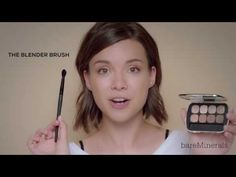 Everyday Natural Makeup Tutorial with Ingrid Nilsen by bareMinerals - YouTube