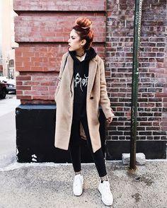 WEBSTA @ luanna90 - Monday  new @aritzia coat