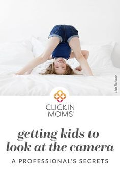 Do your kids run away or hide their faces as soon as they see the camera? Use these tricks from a pro to get perfect eye contact in all your photos! #photography #clickinmoms