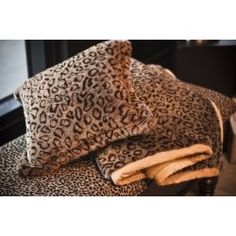 A Leopard Print Pillow makes a fabulous decorative accent in any room (bedroom, office, living room) where ever you would like to add the leopard...