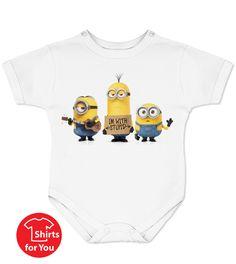 Minions with Stupid Baby Onesie
