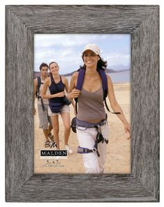 Malden International Designs Rustic Fashion Wide Linear Graywash Wooden Picture Frame, 5x7, Gray >>> Check out this great product. (This is an affiliate link and I receive a commission for the sales)
