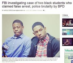 An update on a Chain | Cohn | Stiles #civilrights #excessiveforce case in today's The Bakersfield Californian. The FBI is investigating why two black college students were stopped, roughed up and falsely arrested by #Bakersfield Police Department officers. Read the full story at bakersfield.com.