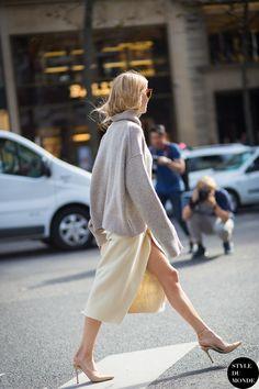 styledumonde.com with @lookdepernille PernilleTeisbaek at paris fashionweek SS2015