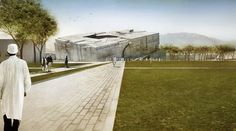 National Museum of Afghanistan Competition Entry - Matteo Cainer Architects