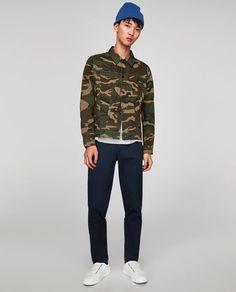Image 1 of CAMOUFLAGE JACKET from Zara