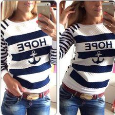 Hope Anchor Sweatshirt