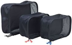 Kiva RSK-05201 Packing Cube Set - Black -- Special  product just for you. See it now! : Travel accessories