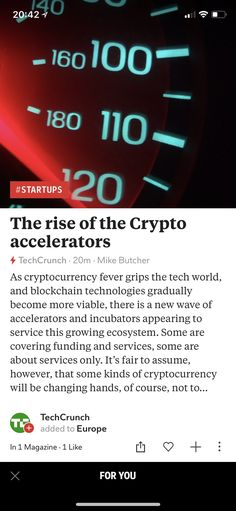 The rise of the Crypto accelerators