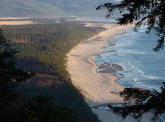 Oregon Travel: Three Capes Loop, Oceanside to Pacific City by Satellite, Map