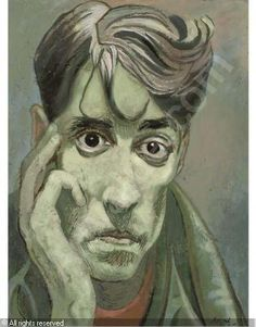 Previously with Philip Mould & Company Portrait of John Minton by Sir Cecil Beaton Line Drawing, Painting & Drawing, Painter Photography, John Minton, Romanticism Artists, Dark Art Drawings, Portrait Art, Portraits, Portrait Paintings
