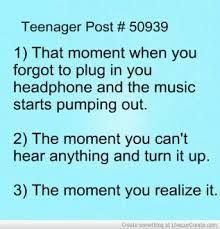 teenager post awkward moments