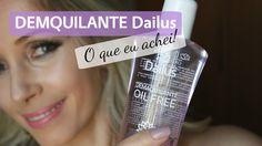 Resenha: Demaquilante Oil Free da Dailus   Blog da Ana