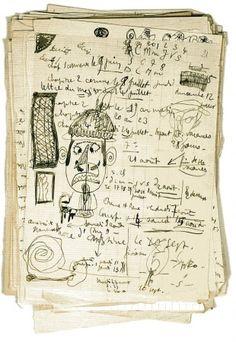 mythologyofblue:  Raymond Queneau, Chiendent, 1933 (chromaticities)