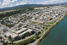 Downtown Whitehorse, Yukon Territory