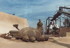 Harvesters and Ornithopters - Behind The Scenes - Arrakis - Dune
