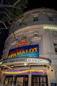 Spamalot @Leslie Lippi Lippi Lee Theatre, London