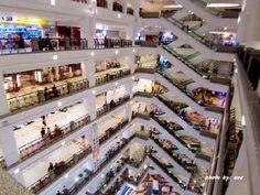 Berjaya times square Kuala Lumpur #Berjaya #timessquare #Kualalumpur this makes me miss KL, this shopping centre had a 7 story roller coaster inside