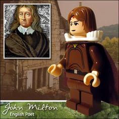 Literary Legos ~ John Milton (English Poet)   by Morgan190