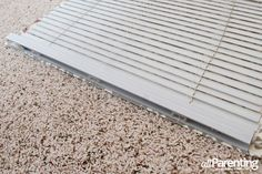 allParenting DIY Roman shade step 11