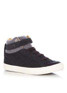 fantastische Converse  Pro Blaze sneaker van suède (zwart)