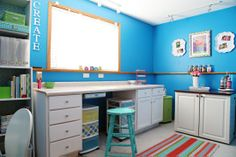 IHeart Organizing: A Surprise Craft Room Before & After Story