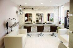Nuestros sillones de peluquería Mitas y #lavacabezas Creta+Mitas en el salón Kapsalon Knip & Co. de Bélgica, gracias a JJ Maes.