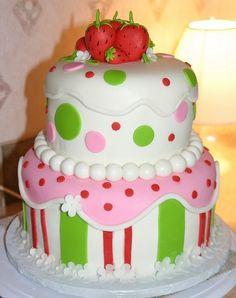 marshamallow strawberry shortcake birthday party ideas