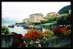 Belagio, Italy -beautiful town on Lake Como, north of the town of Como. Love this town!!