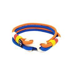 Nautical Bracelet, Nautical Jewelry, Orange And Blue Make, Reef Knot, Marine Rope, Surfer Bracelets, Handmade Accessories, Handmade Bracelets, Boyfriend Gifts